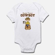 Rootin' Tootin' Red Head Cowb Infant Bodysuit