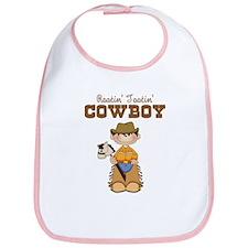 Rootin' Tootin' Cowboy Bib