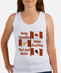 Being Canadian Women's Tank Top