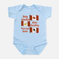 Being Canadian Infant Bodysuit