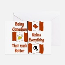 Being Canadian Greeting Cards (Pk of 10)