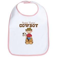 Rootin' Tootin' Little Cowboy Bib