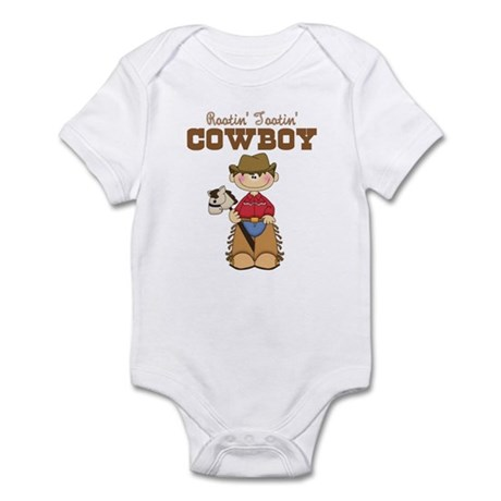 Rootin' Tootin' Little Cowboy Infant Bodysuit