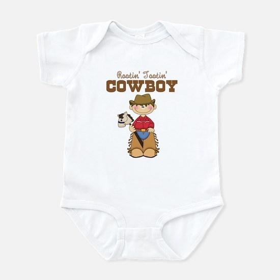 Rootin' Tootin' Little Cowboy Infant Bodysuit