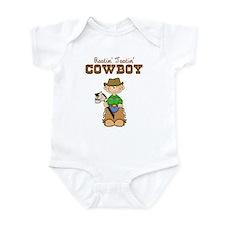 Rootin' Tootin' Blonde Cowboy Infant Bodysuit