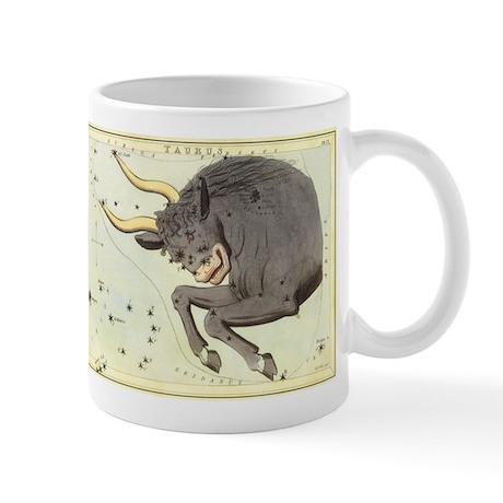 Vintage Celestial Zodiac, Taurus Mug