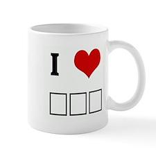 I Love ΣΦΕ Mug