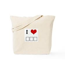 I Love ΣΦΕ Tote Bag