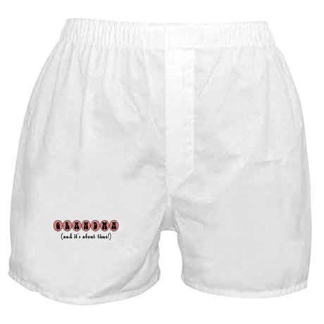 About Time Grandma Boxer Shorts
