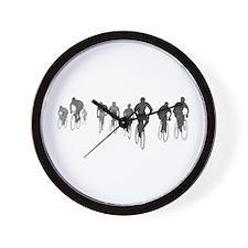 Cute Bike commuter Wall Clock