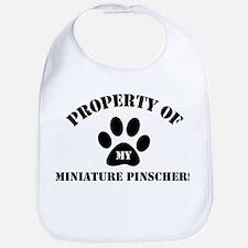 My Miniature Pinschers Bib