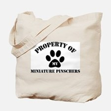 My Miniature Pinschers Tote Bag