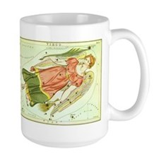 Vintage Celestial Zodiac, Virgo Mug