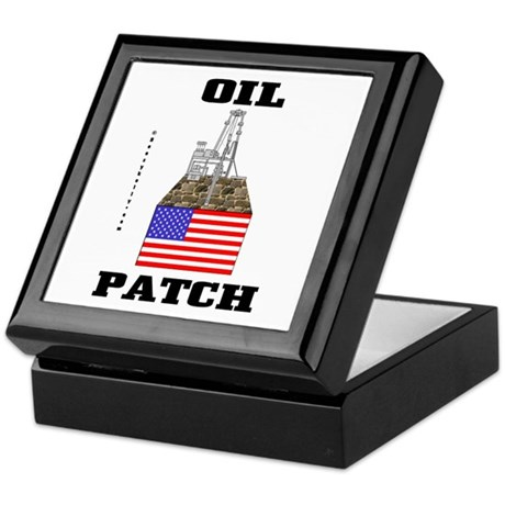 Oil Patch,US,USA Keepsake Box,Oil,Rig,Gift