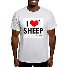 I Love* Sheep T-Shirt