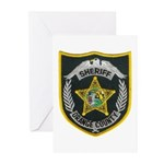 Orange County Sheriff Greeting Cards (Pk of 20)