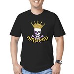 Kingpins Bowling Men's Fitted T-Shirt (dark)