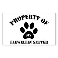 My Llewellin Setter Rectangle Decal