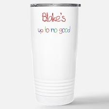 Blake's Up To No Good Stainless Steel Travel Mug