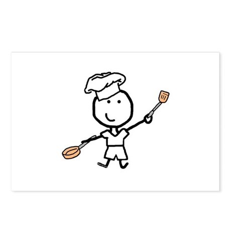 Boy & Chef Postcards (Package of 8)