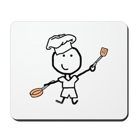 Boy & Chef Mousepad