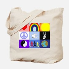 peaceloveunity / Assemble Peace Tote Bag