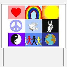 peaceloveunity Yard Sign