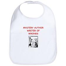 mystery writer author joke Bib