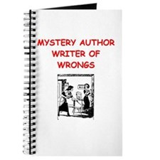 mystery writer author joke Journal