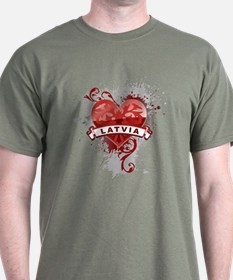 Heart Latvia T-Shirt