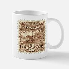 Cowboy 2 Cent Stamp Mug