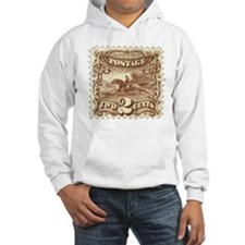 Cowboy 2 Cent Stamp Hooded Sweatshirt