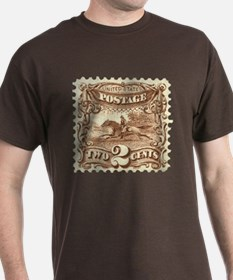 Cowboy 2 Cent Stamp T-Shirt