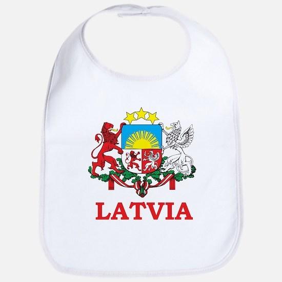 Latvia Bib