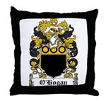 O'Hogan Coat of Arms Throw Pillow