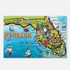 Cool Map Postcards (Package of 8)