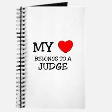 My Heart Belongs To A JUDGE Journal