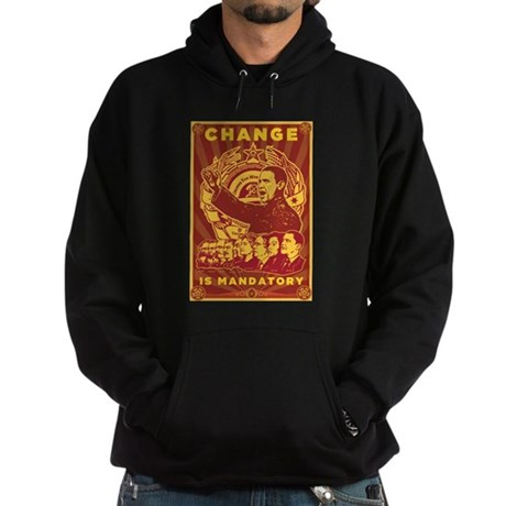 Change Is Mandatory Hoodie (dark)