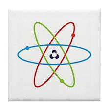 Awesome Atom Tile Coaster