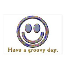 Have A Groovy Day! Postcards (Package of 8)