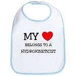My Heart Belongs To A HYDROKINETICIST Bib