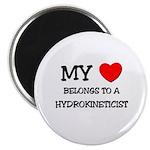 My Heart Belongs To A HYDROKINETICIST Magnet
