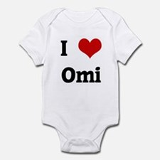 I Love Omi Infant Bodysuit