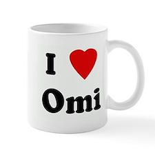 I Love Omi Mug