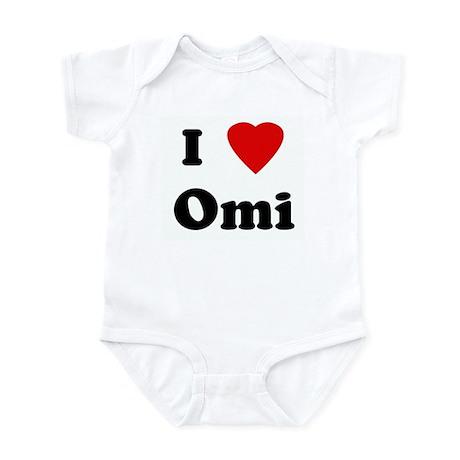 I Love Omi Infant Bodysuit