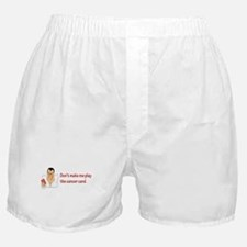 Real Men Dig Bald Chicks Boxer Shorts