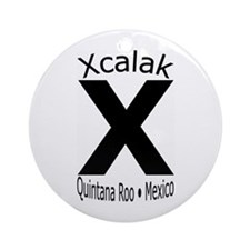 Xcalak Mexico Ornament (Round)