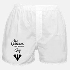 Real Gentlemen are born in July Cpwty Boxer Shorts