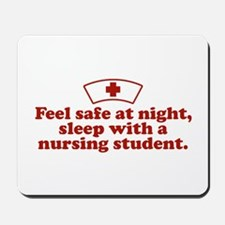 Funny Nursing Student Mousepad