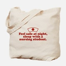 Funny Nursing Student Tote Bag